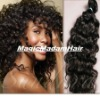 100% virgin remy human hair weaving