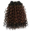 10inch Brazilian hair tied left