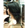 10inches remy silky lace wig
