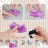 10pcs Nail Polish Protection Plastic Cover Clipper Set For Hand Nail Art NA409