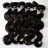 "12""-26"" 100% indian hair with silky touch body wave remy hair wefts"