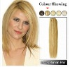 #12 Light Golden Brown 18inch Silky Straight Indian Remy Hair Weft/Weaving
