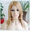 "12"" Straight With Bang 100% Indian Remy Hair Full Lace Wigs"