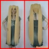 120CM Vocaloid Hatsune Miku Multicolor Anime Costume Cosplay Party Hair Wig