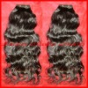 "16"" Loose wave-Super quality 100%Brazilian virgin hair machine made weft"