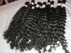 "17"" high quality pure indian virgin remy straight wavy curly human hair extention"