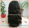 "18"" Natural Wave Brazilian Virgin Hair Full Lace Wig"