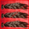 "18"" Natural straight-Super quality 100% Brazilian virgin hair extension-hand tide weft"