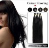 18inch Natural Black Stick Tip Human Hair Extension