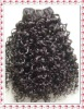 1b afro curly Indian remy hair extension 112g