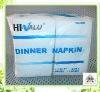 2-ply White Dinner Napkin