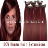 20'' 6pcs clip remy hair extension #bug 36g