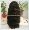 "20"" Body Wave 100% Chinese Virgin Hair Full Lace Wigs"