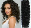 20 CURLY Weft Hair Extension 100% Brazilian Remy Human Hair,Natural Colour,Free Shipping,accept mix order
