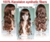 2011 Braided Lace Wigs Nature Linen