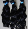 2011 NEW Natural straight and wavy brazilian hair weave