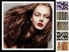 2011 Top selling color Feather hair extension
