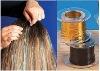 2011 best seller glossy hair tinsel