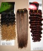 2011 hot hair weaving/deep&yaki wave-100% HUMAN HAIR