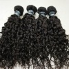 2011 hotselling indian hair wefts curly black and brown in stock for wholesale