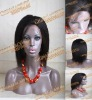 2011 in stock  12 inch #2 straight indian remy hair wig