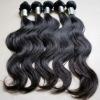 2011 new arrival straight and body wavy indian human hair weave