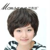 2011 newest and fashion short curl synthetic wigs