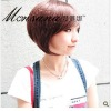 2011 newest fashion and sweet short bobo style synthetic wigs
