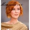2011 newest short curl human hair wig