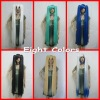 2012 New 120CM Vocaloid Hatsune Miku Multicolor Anime Costume Cosplay Party Hair Wig