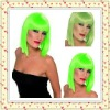 2012 New Fashionable Cosplay Green Wig