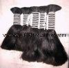 2012 brand new human hair ,lady's long 100% human hair extension ,hair bulk