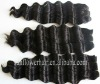 2012 fashion deep wave 100% virgin remy Indian hair weaving accept paypal