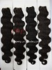 2012 hot selling body wave human made hair wefts