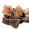 2012 hot selling v tip human hair extension