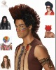 2012 latest mens synthetic wigs/Funny party wigs(BSHW-2686)