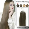 2012 new arrival 100% human remy micro ring Hair Extension factory price