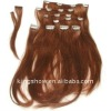 2012 newest hot sale clip on hair extension wholesale/Competitive price/OEM order
