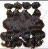 2012 top quality natural wavy brazilian hair extensions