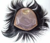 2012 wholesale AAA grade Indian virgin Men's toupee, accept paypal escrow