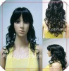 21INCH black kinky culy women's charming wig online for youYSL11-2023F