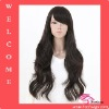 26 Inch 3# Color High Quality Human Hair Lace Wig
