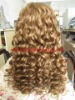 3/4 hair wig,26'',6#,big wave,100% human hair wig accept paypal payment