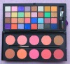 42 Color Double Stack Shimmer Eyeshadow & Blush Palette
