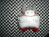 50ML SCNETED LOVELY PIG PVC POUCH BUBBLE BATH