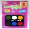 6-color face paint set