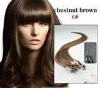 AAA Chinese remy virgin hair Micro loop ring hair extension