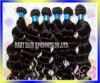 AAA remy virgin brazilian human hair weft extension brazilian weave hair body wave brown