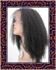 Afric Kinky Hair 100% Indian Human Full Lace Wig10inch Hair Wig
