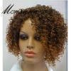 African Ameican Indian remy human hair full lace wigs